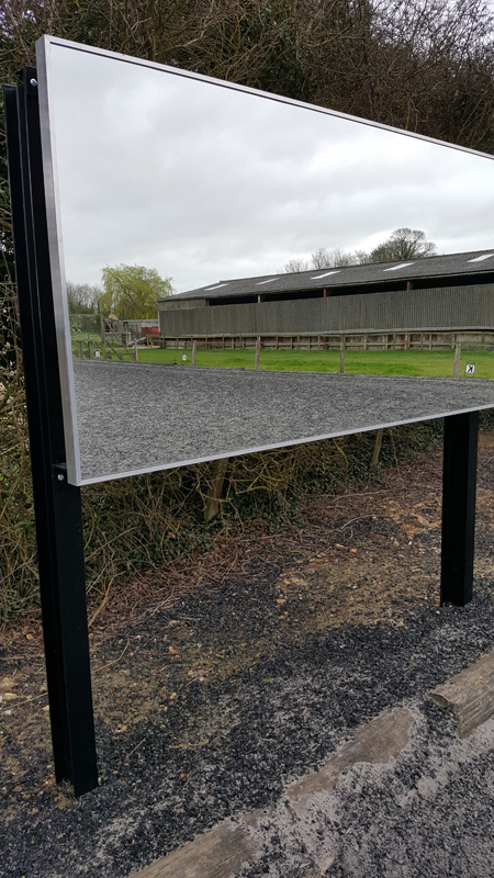 Dressage Training arena mirror